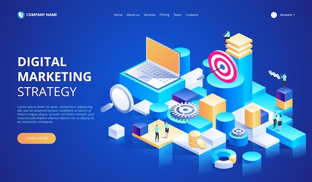 Business analysis, content strategy and management concept