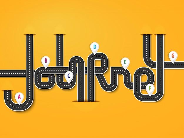 핀 포인터와 비즈니스 및 여행 infographic 템플릿