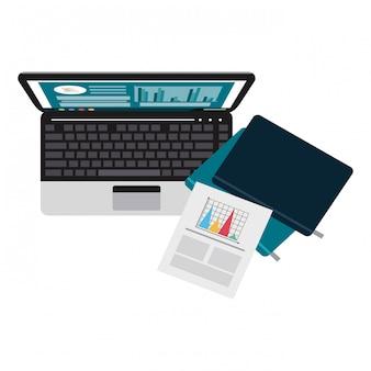 ビジネスとオフィスの要素