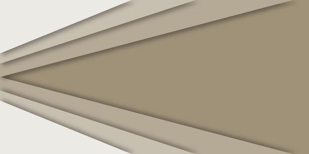 ビジネスの背景幾何学的なペーパーカットスタイル。