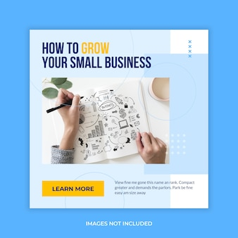 Business banner social media