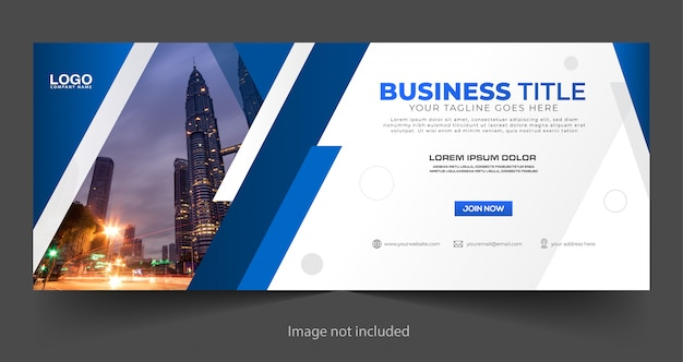 Business banner template design Premium Vector