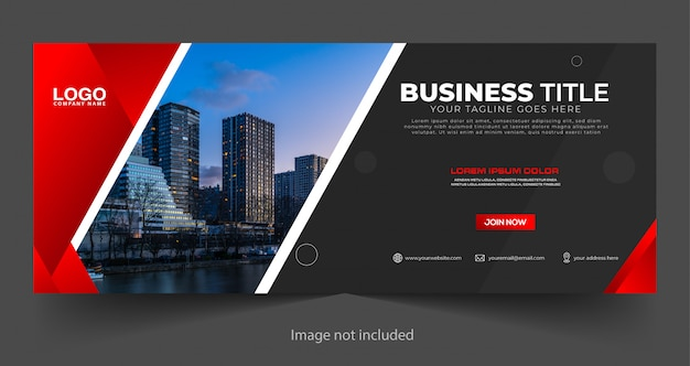 Business banner template design