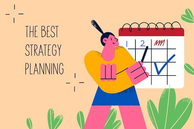 Концепция планирования лучшей стратегии бизнеса