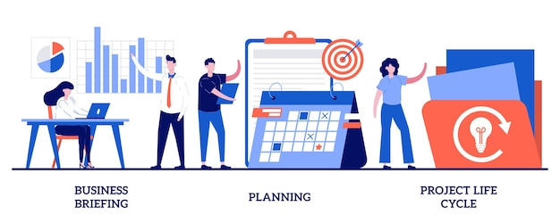Бизнес-брифинг, планирование, жизненный цикл проекта. комплекс управления проектами, постановка задач
