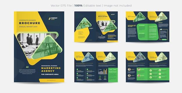 Business brochure or company profile design