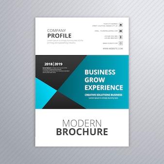Business brochure creative template design vector