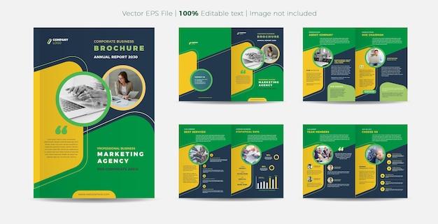 Business brochure design or  company profile and annual report