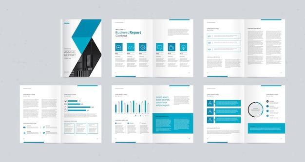 Шаблон оформления бизнес-брошюры