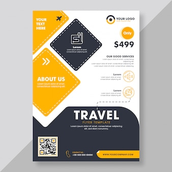 Business brochure or flyer template