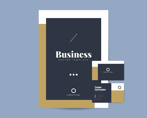 Business brochure and name card templates