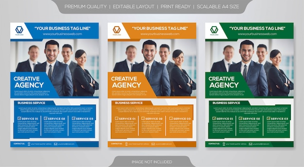 Business brochure premium template