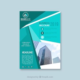 サイズa5のビジネスパンフレットテンプレート