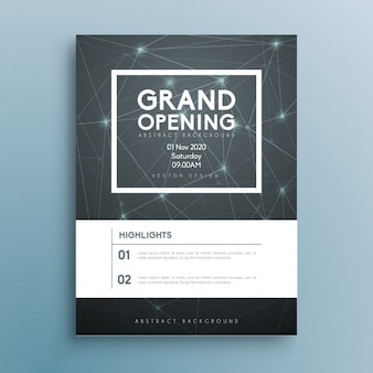 Business invitation vectors photos and psd files free download business brochure template wajeb Gallery