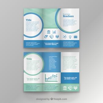 Шаблон бизнес брошюра