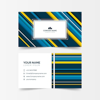 Business card abstract collection