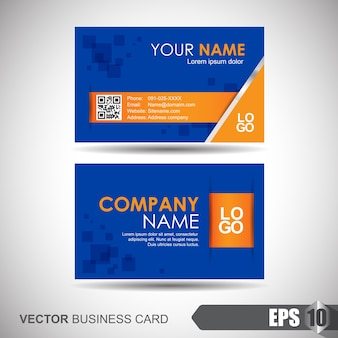 Business card abstract design