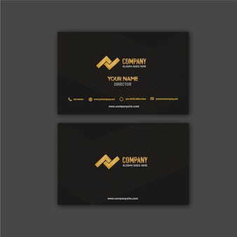 Business card arrow line and vector