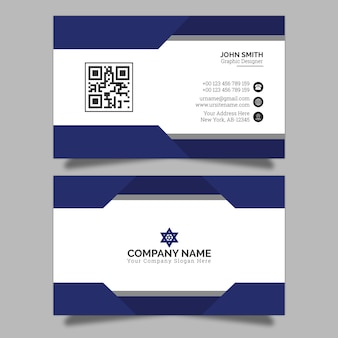 Business card design premium