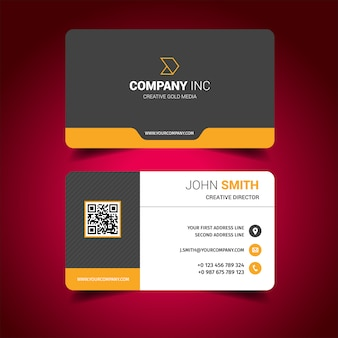 Visiting card vectors photos and psd files free download business card design reheart Image collections