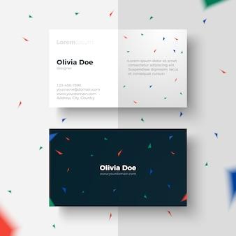 Business Card geometric