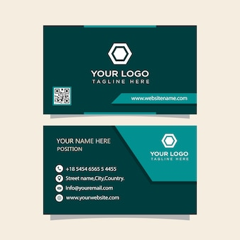 Business card high quality ready to print