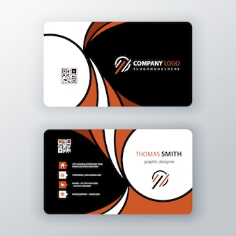 Business card illustration