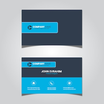 Business card for it company