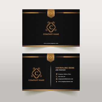 Business card luxury