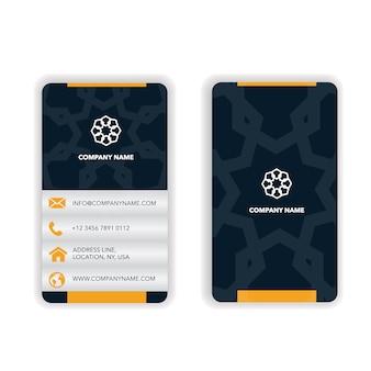 Business card mandala design