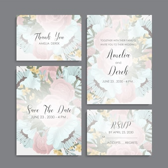 Business card name card design template