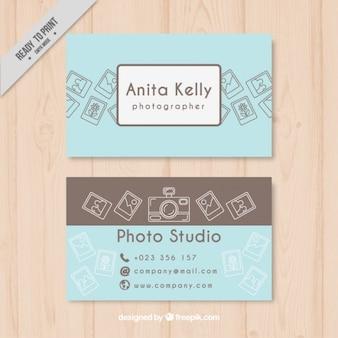 写真スタジオの名刺