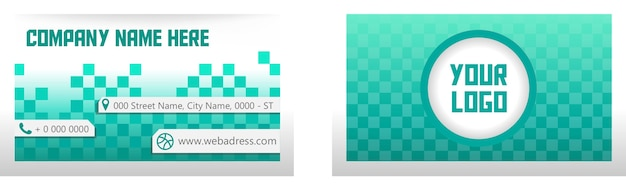 Визитная карточка quadrille