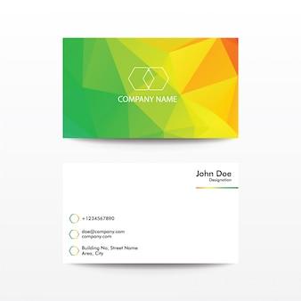 Business card - rainbow