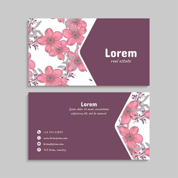 Business card set. vector illustration. eps10