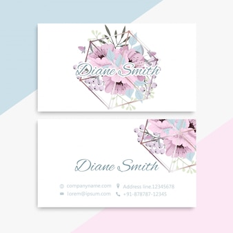 Business card set
