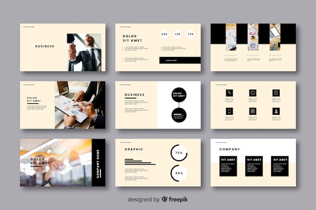 Business card template collection
