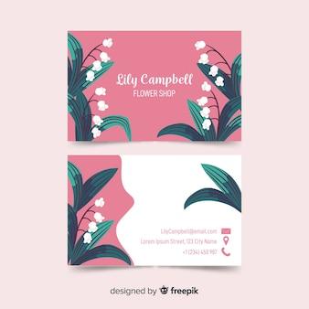 Business card template elegant design