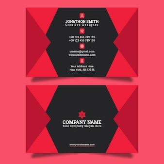 Business card template premium