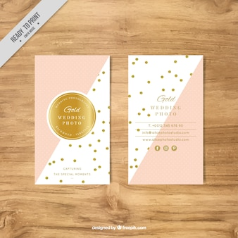 Gold circle vectors photos and psd files free download business card template with golden circles friedricerecipe Images