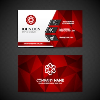 Business Card Vectors Photos And PSD Files Free Download - Template for a business card