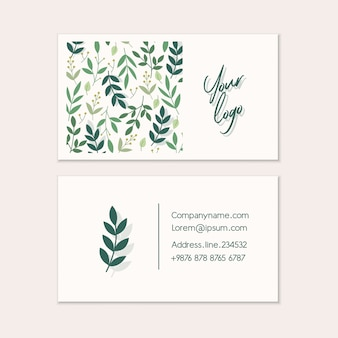 Business card templates.