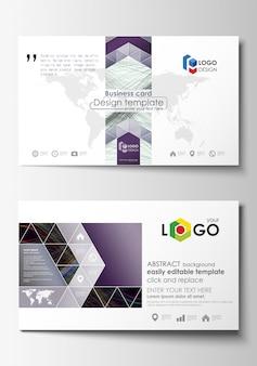 Business card templates.