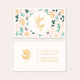 Business card vector templates.