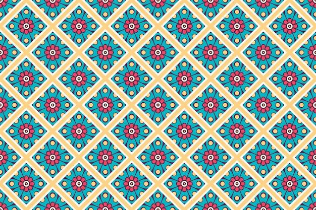名刺。ヴィンテージの装飾的な要素。装飾用花名刺、オリエンタルパターン、ベクトル図
