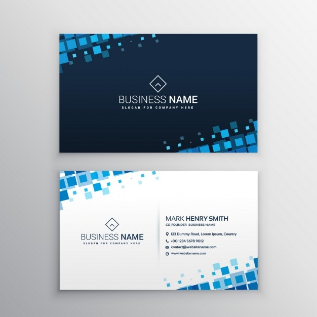 Visit card romeondinez business card vectors photos and psd files free download reheart Choice Image