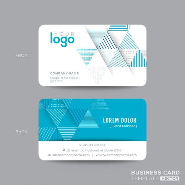 Blank Business Cards Templates Free Download Card Template