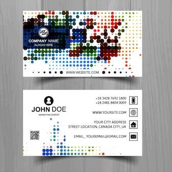 Красочные визитные карточки