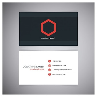 Креативный директор business card