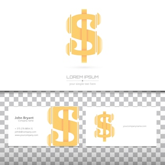 Business cards and logo